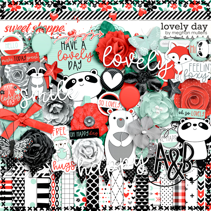 Lovely Day-Kit by Meghan Mullens
