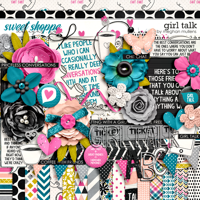 Girl Talk-Kit by Meghan Mullens