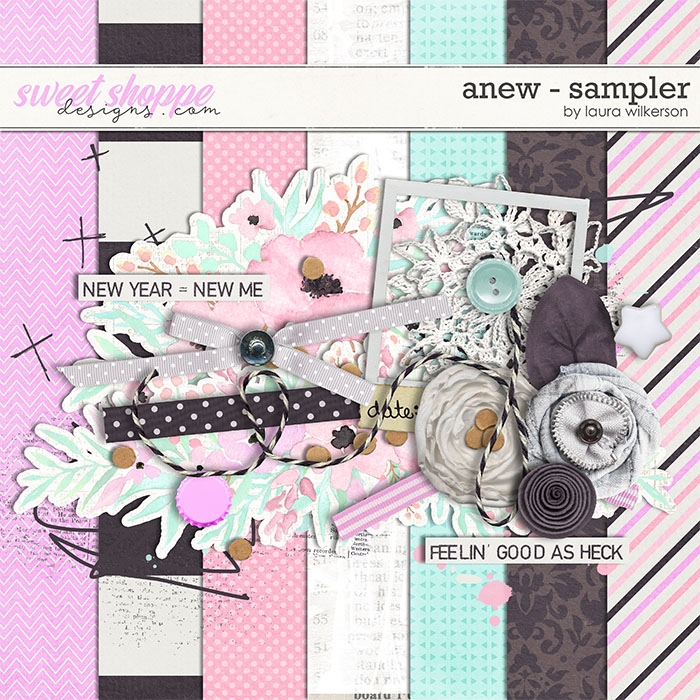 Anew: Sampler by Laura Wilkerson