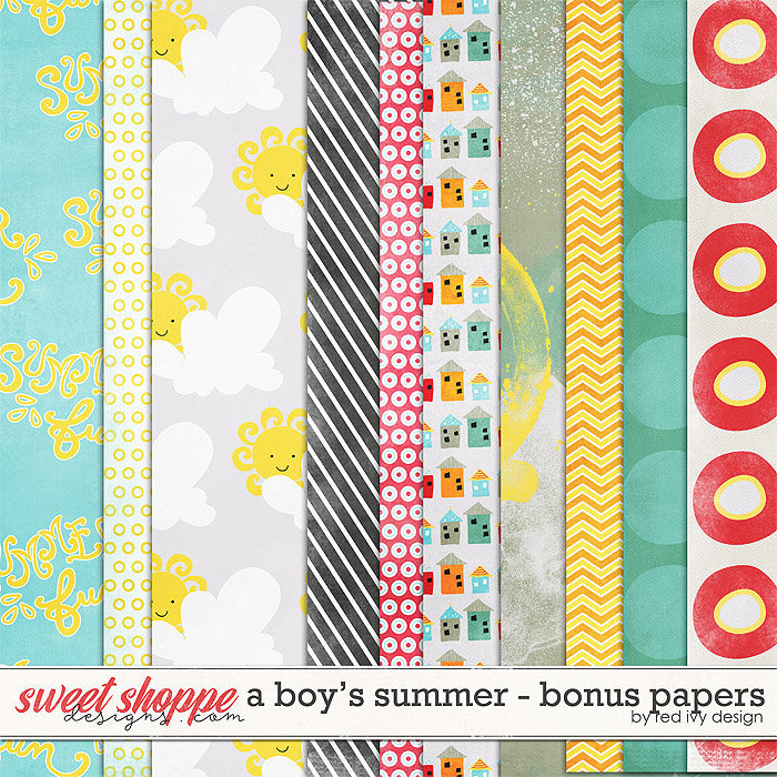 A Boy's Summer - Bonus Papers