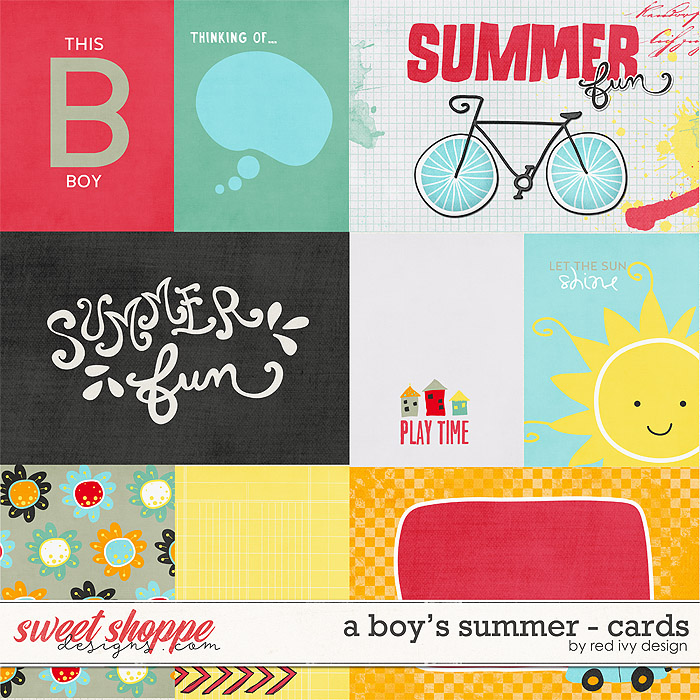 A Boy's Summer - Cards