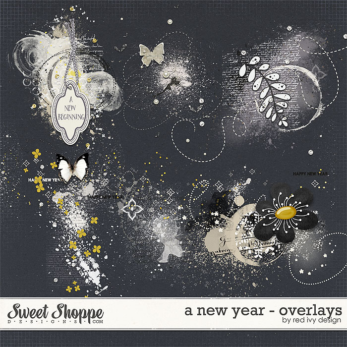 A New Year - Overlays - by Red Ivy Design