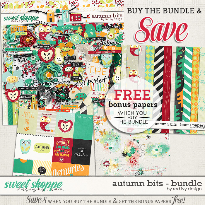 Autumn Bits - Bundle by Red Ivy Design