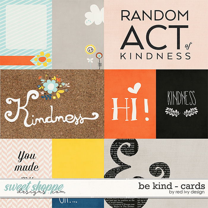 Be Kind - Cards