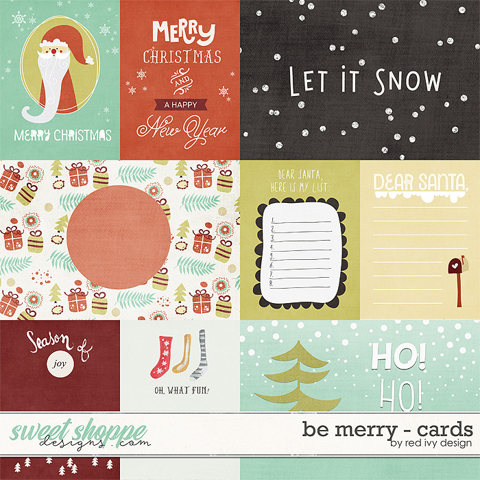Be Merry - Cards