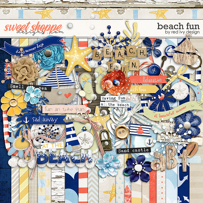Beach Fun by Red Ivy Design