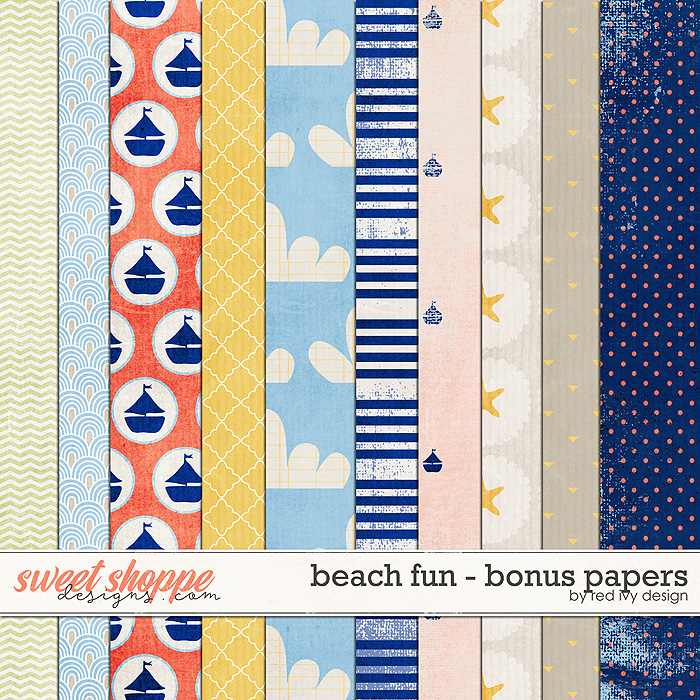 Beach Fun - Bonus Papers