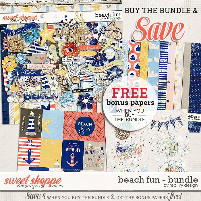 Beach Fun - Bundle by Red Ivy Design