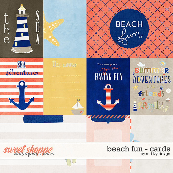 Beach Fun - Cards