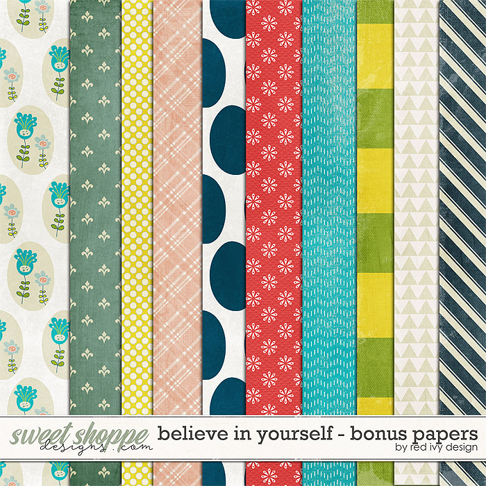 Believe In Yourself - Bonus Papers
