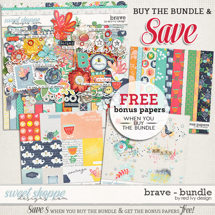Brave - Bundle by Red Ivy Design