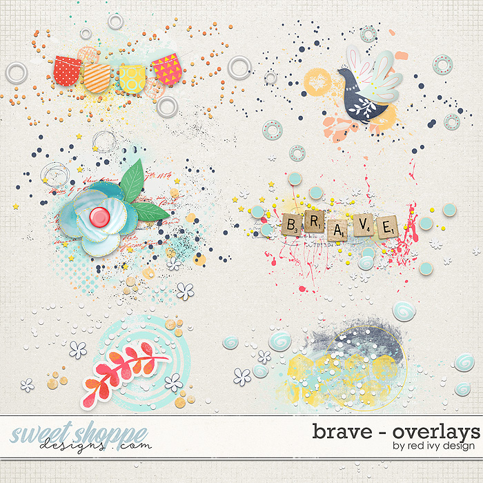 Brave - Overlays by Red Ivy Design