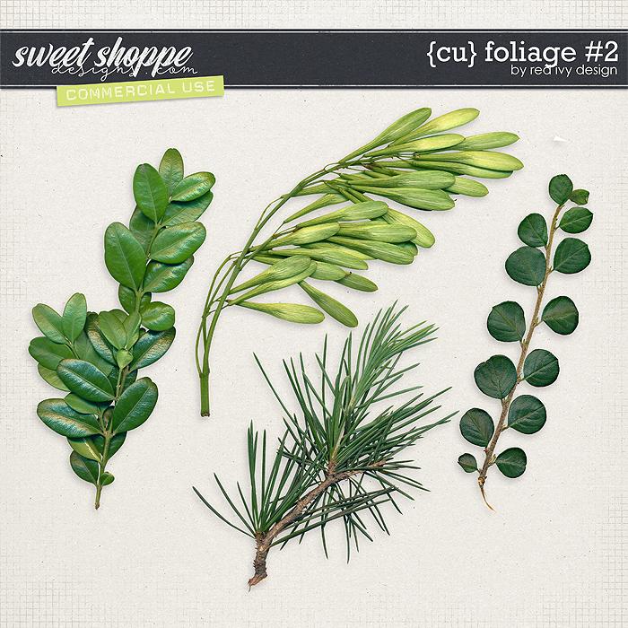 CU Foliage #2 by Red Ivy Design