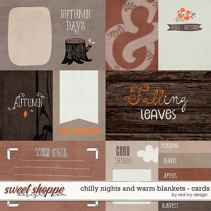 Chilly Nights and Warm Blankets - Cards