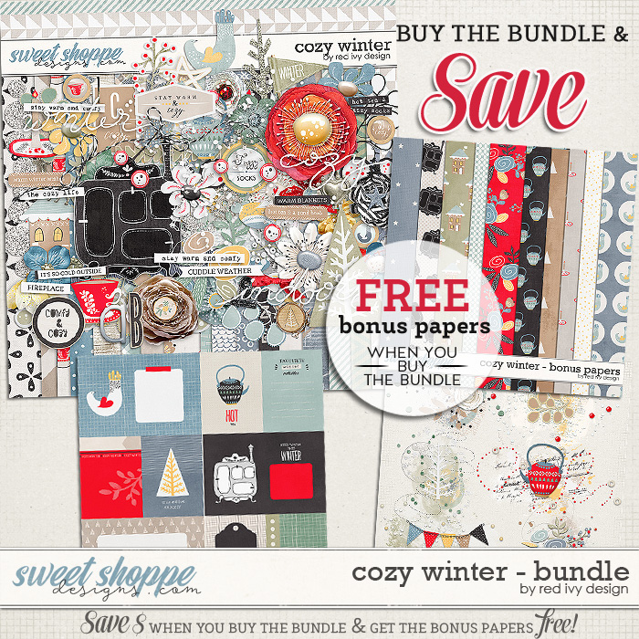 Cozy Winter - Bundle by Red Ivy Design