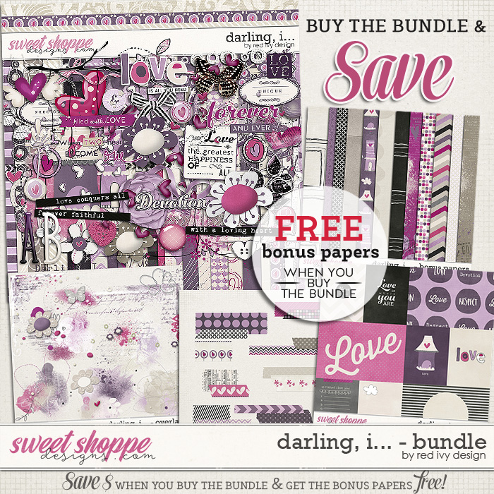 Darling, I... - Bundle by Red Ivy Design