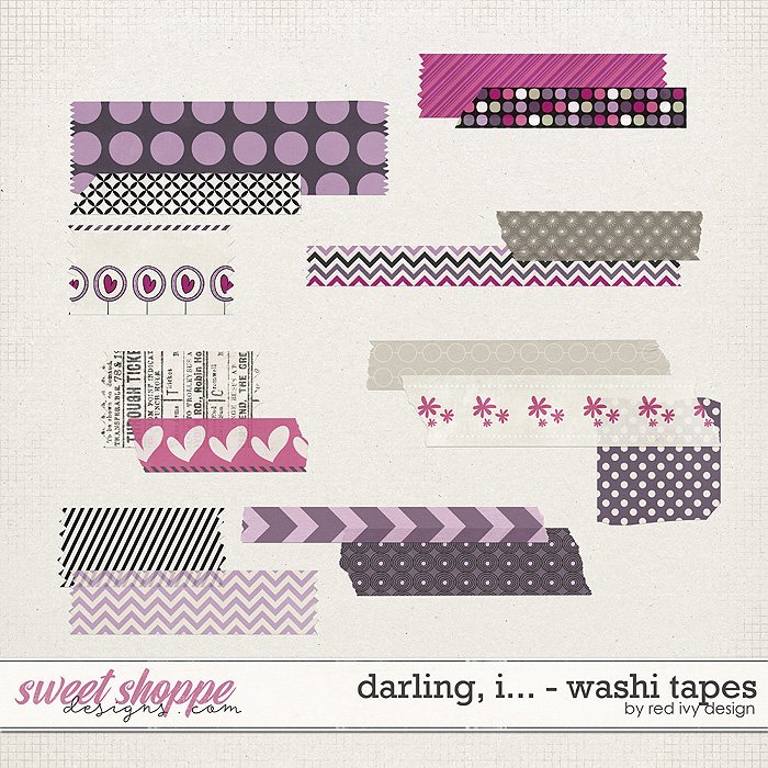 Darling, I... - Washi Tapes