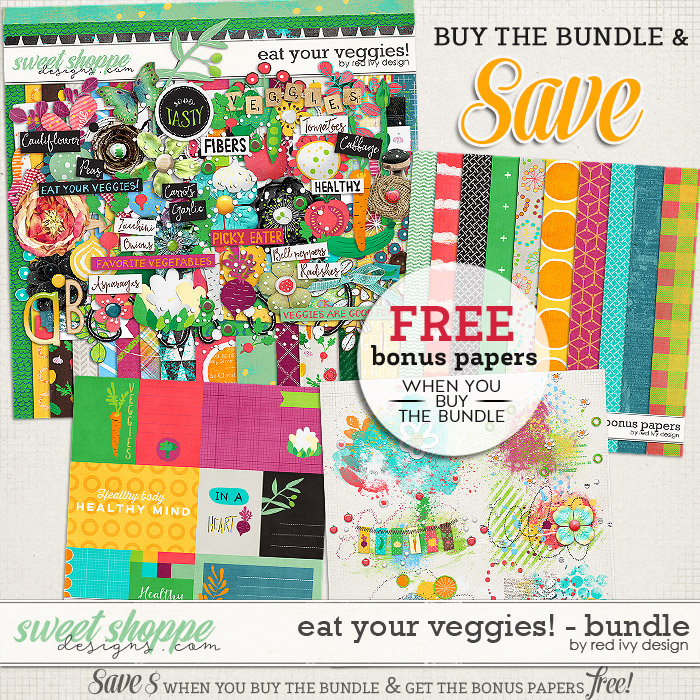 Eat Your Veggies! - Bundle by Red Ivy Design