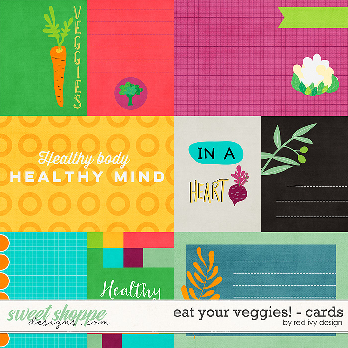 Eat Your Veggies! - Cards