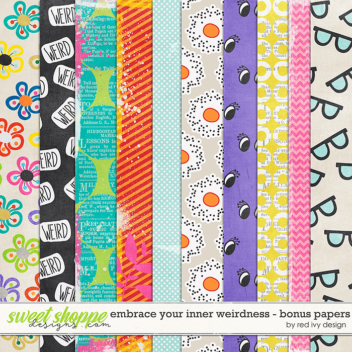 Embrace Your Inner Weirdness - Bonus Papers