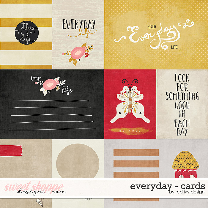 Everyday - Cards by Red Ivy Design