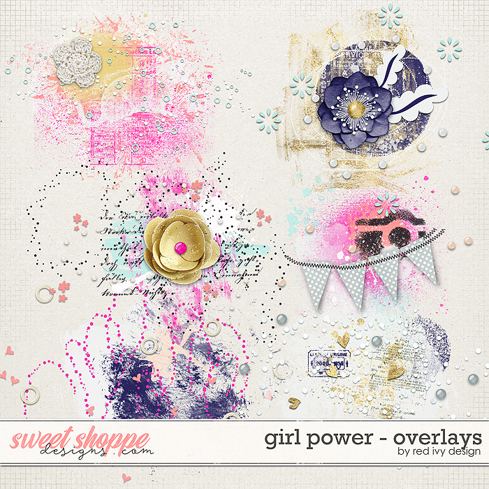 Girl Power - Overlays