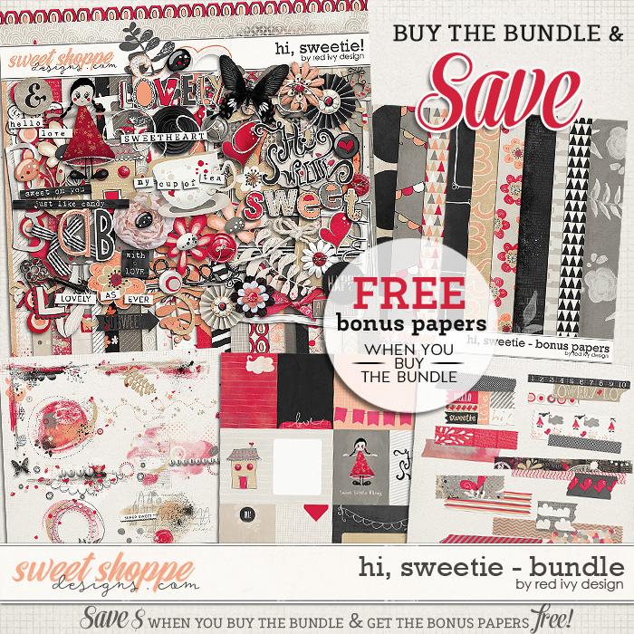 Hi, Sweetie! - Bundle by Red Ivy Design