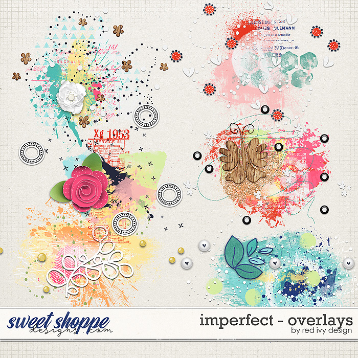 Imperfect - Overlays by Red Ivy Design