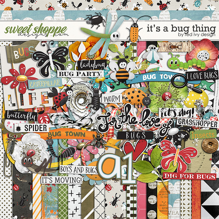It's a Bug Thing by Red Ivy Design