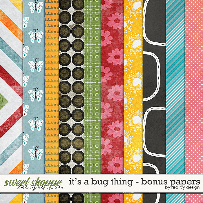 It's a Bug Thing - Bonus Papers