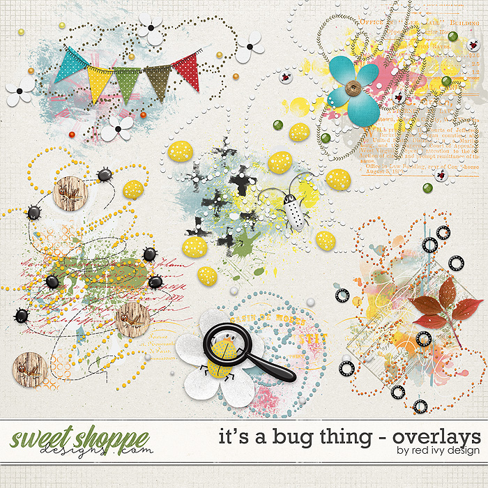 It's a Bug Thing - Overlays by Red Ivy Design