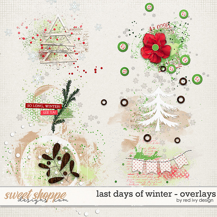 Last Days of Winter - Overlays by Red Ivy Design
