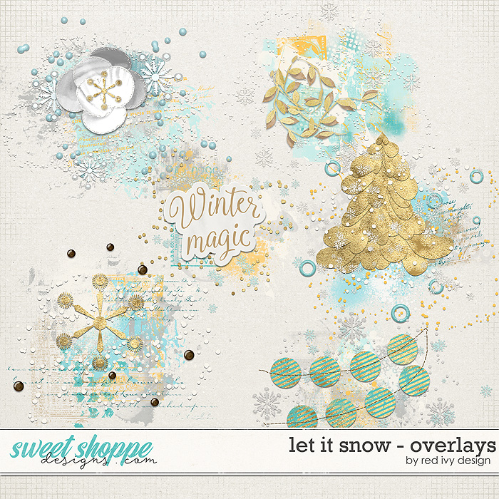 Let It Snow - Overlays by Red Ivy Design