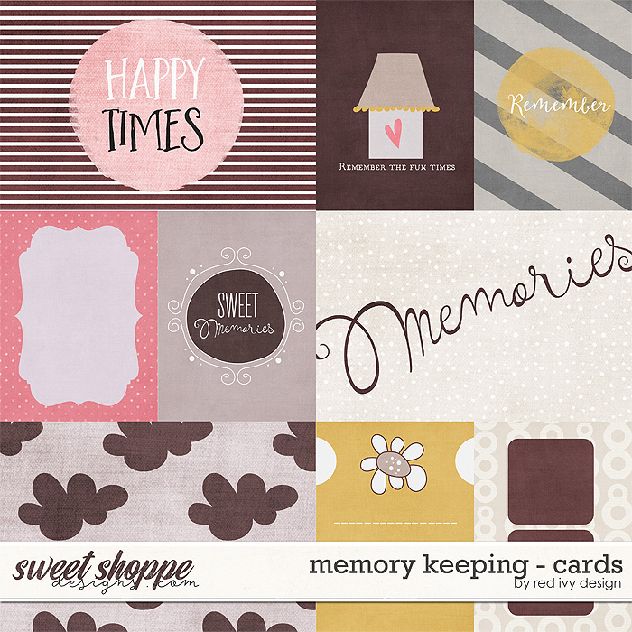 Memory Keeping - Cards