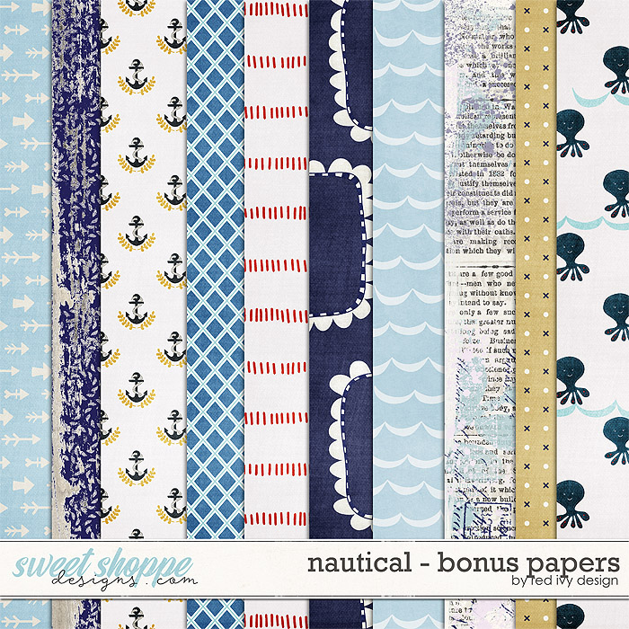 Nautical - Bonus Papers