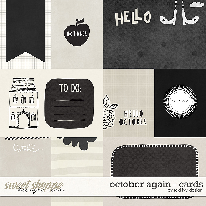 October Again - Cards