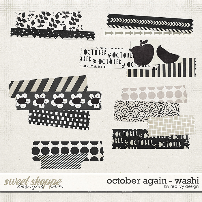 October Again - Washi Tape