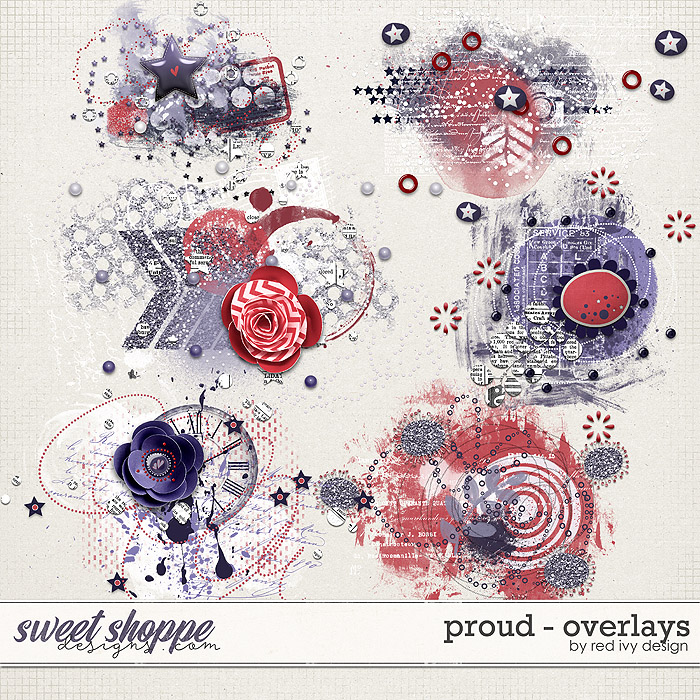 Proud - Overlays