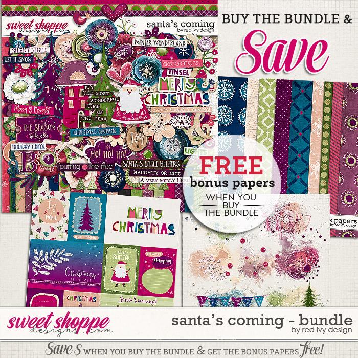 Santa's Coming - Bundle