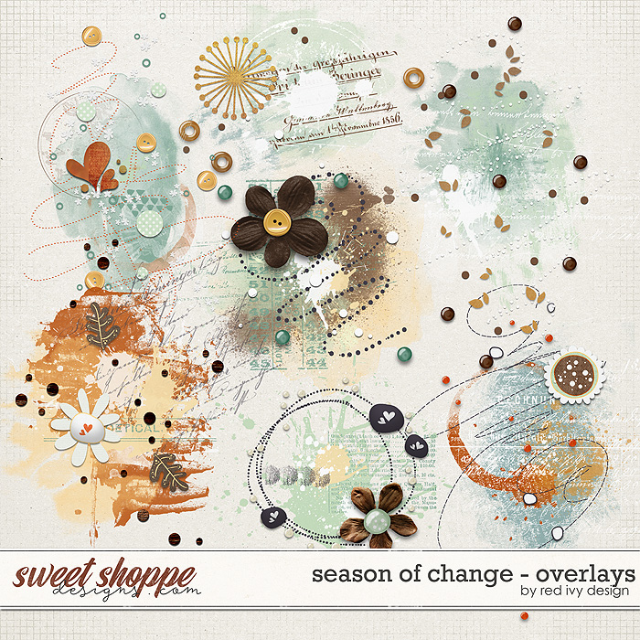Season of Change - Overlays by Red Ivy Design