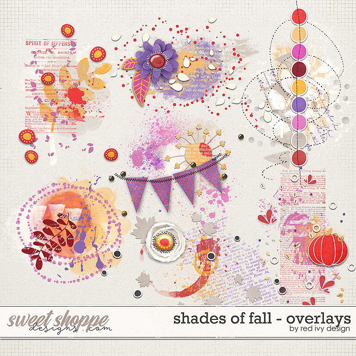 Shades of Fall - Overlays by Red Ivy Design