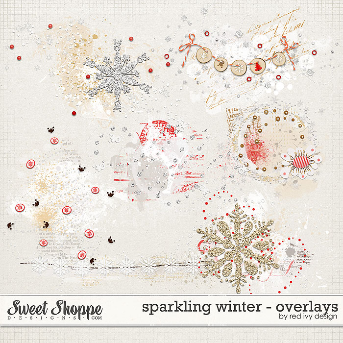 Sparkling Winter - Overlays - by Red Ivy Design