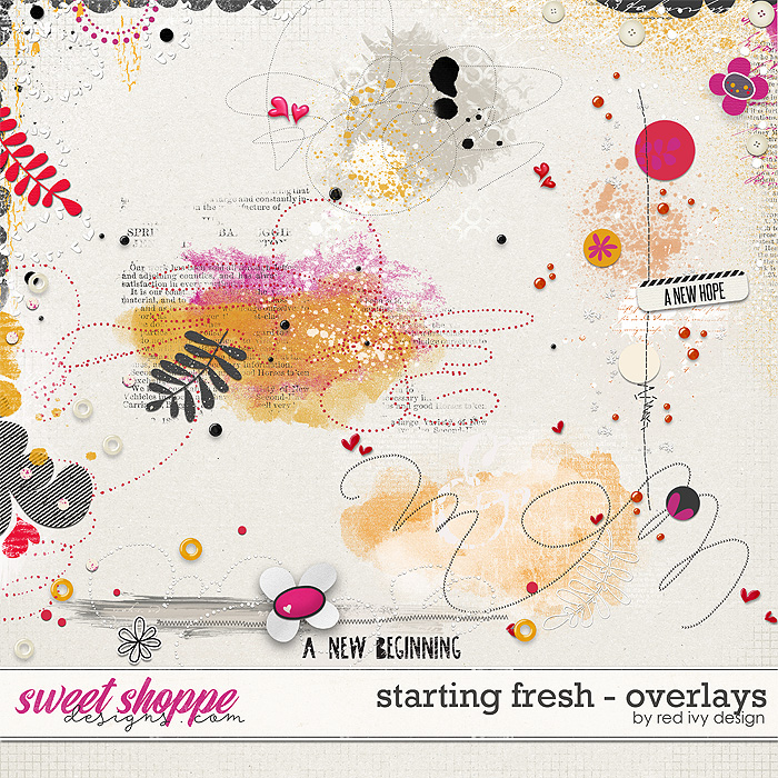 Starting Fresh - Overlays by Red Ivy Design