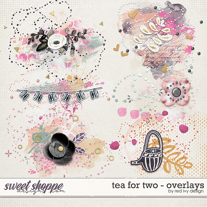 Tea For Two - Overlays