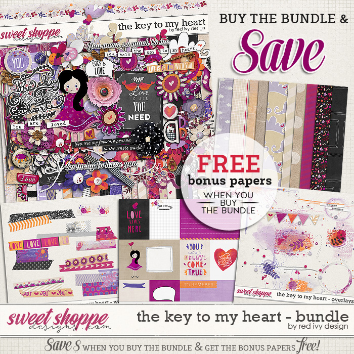 The Key To My Heart - Bundle