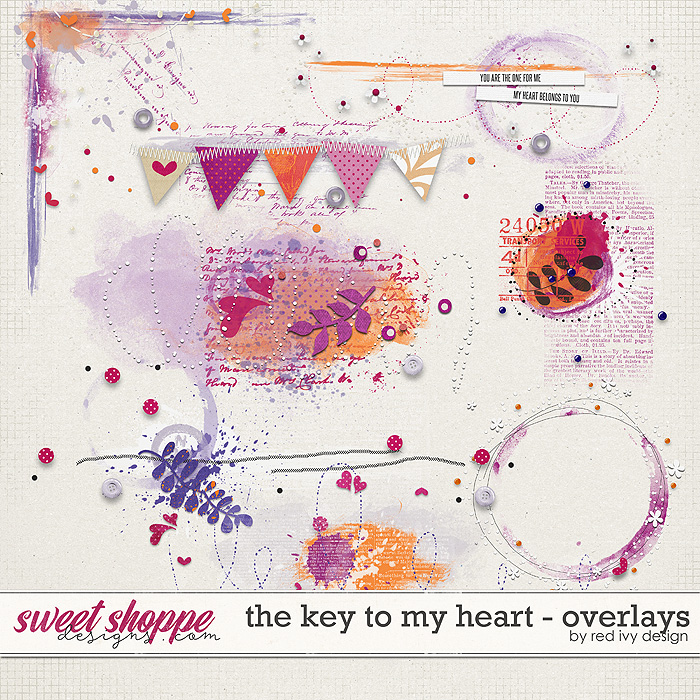 The Key To My Heart - Overlays