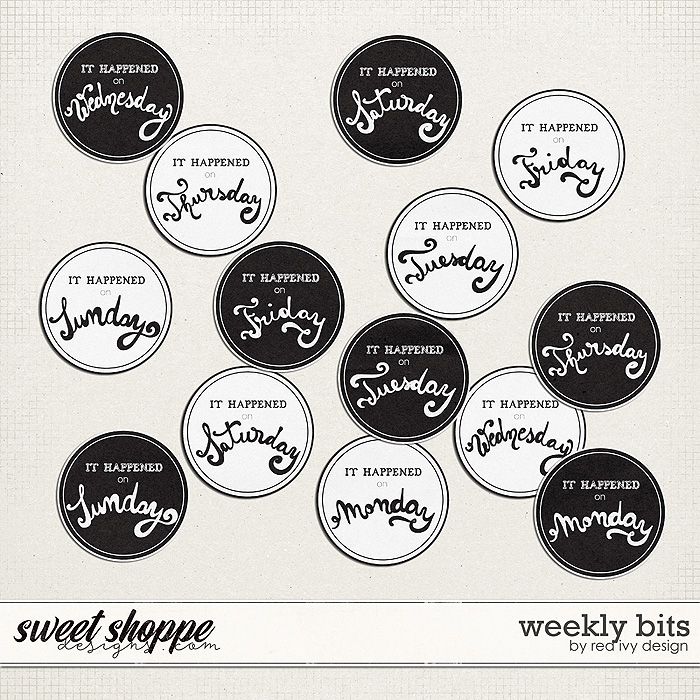 Weekly Bits by Red Ivy Design
