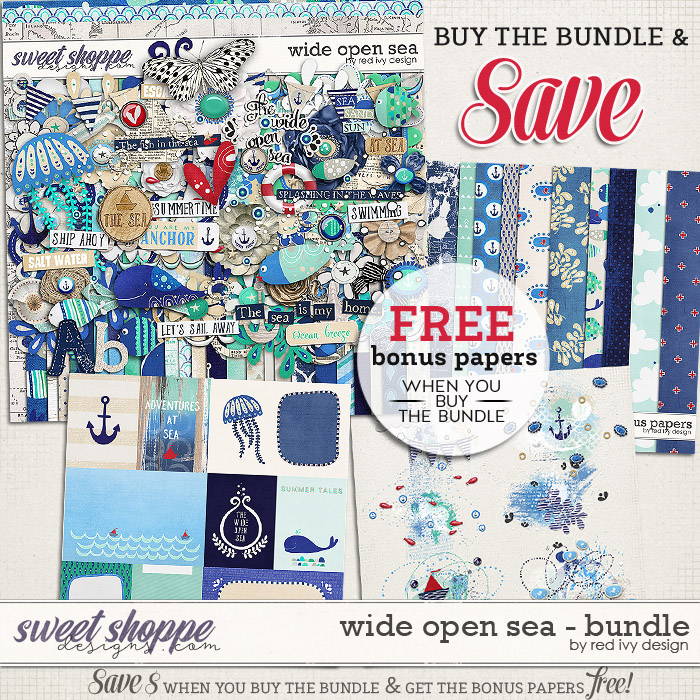 Wide Open Sea - Bundle by Red Ivy Design