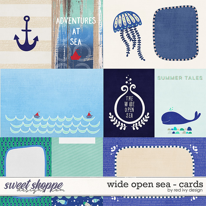 Wide Open Sea - Cards