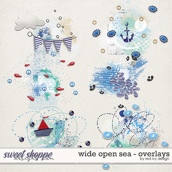 Wide Open Sea - Overlays